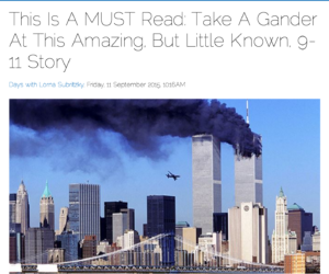 A 9/11 reminder that even the worst of tragedy holds the opportunity for compassion and generosity.